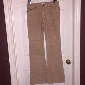 🌼 Aeropostale Brand. Khaki Corduroy Long Pants